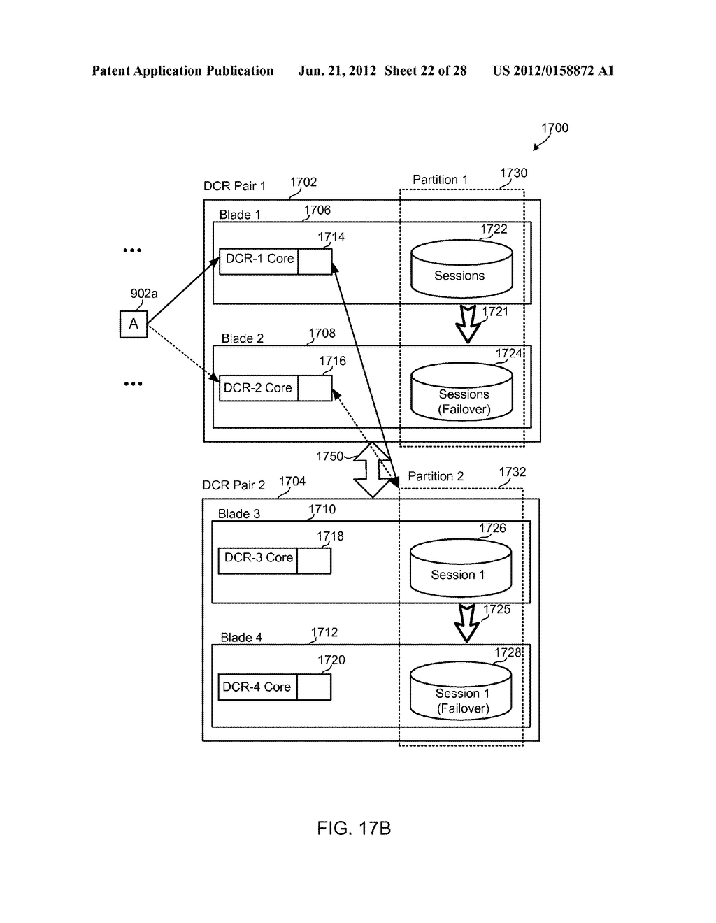 METHODS, SYSTEMS AND DEVICES FOR HORIZONTALLY SCALABLE HIGH-AVAILABILITY     DYNAMIC CONTEXT-BASED ROUTING - diagram, schematic, and image 23