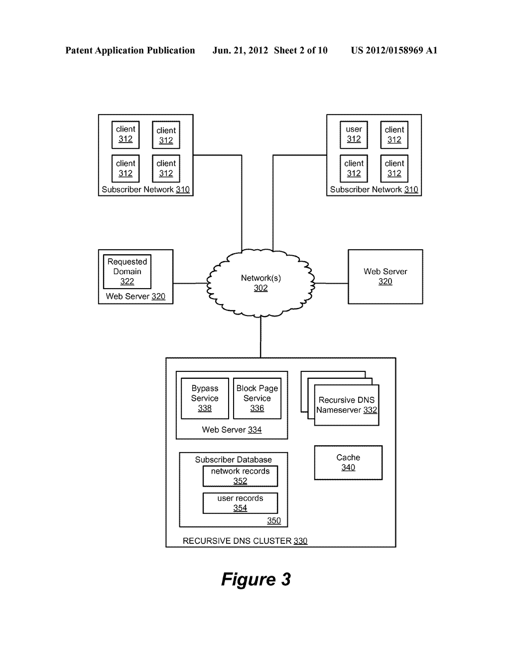 Selective Proxying In Domain Name Systems - diagram, schematic, and image 03