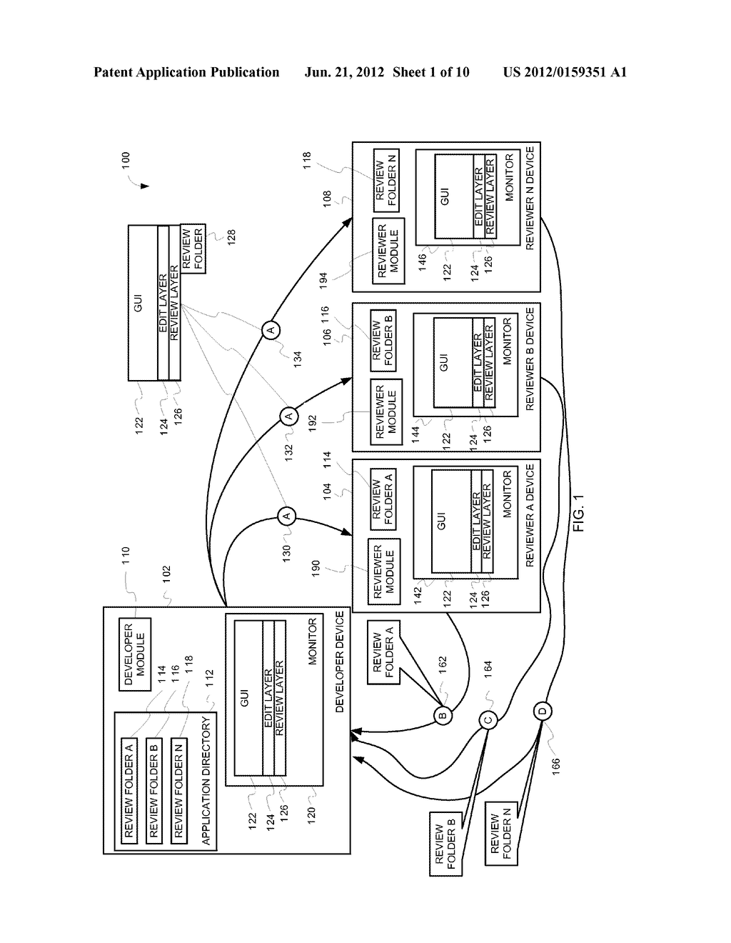 MULTIPLE REVIEWS OF GRAPHICAL USER INTERFACES - diagram, schematic, and image 02