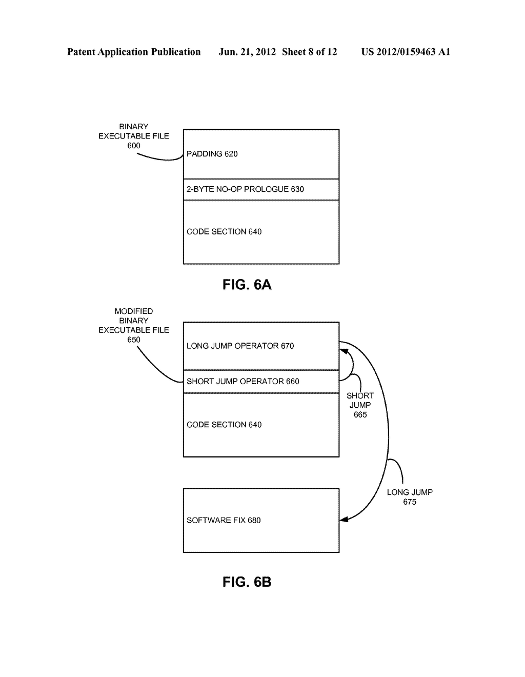 METHOD AND SYSTEM FOR CREATING, APPLYING, AND REMOVING A SOFTWARE FIX - diagram, schematic, and image 09