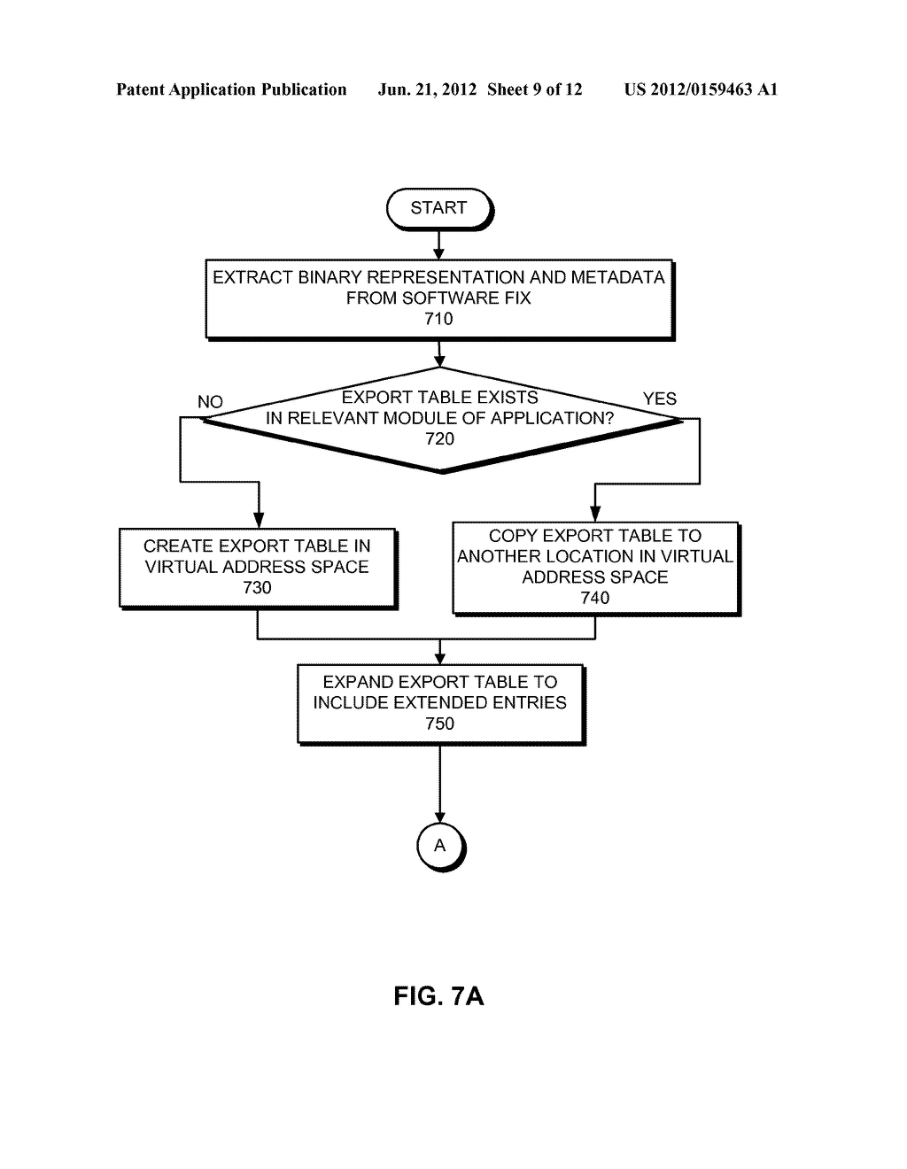 METHOD AND SYSTEM FOR CREATING, APPLYING, AND REMOVING A SOFTWARE FIX - diagram, schematic, and image 10