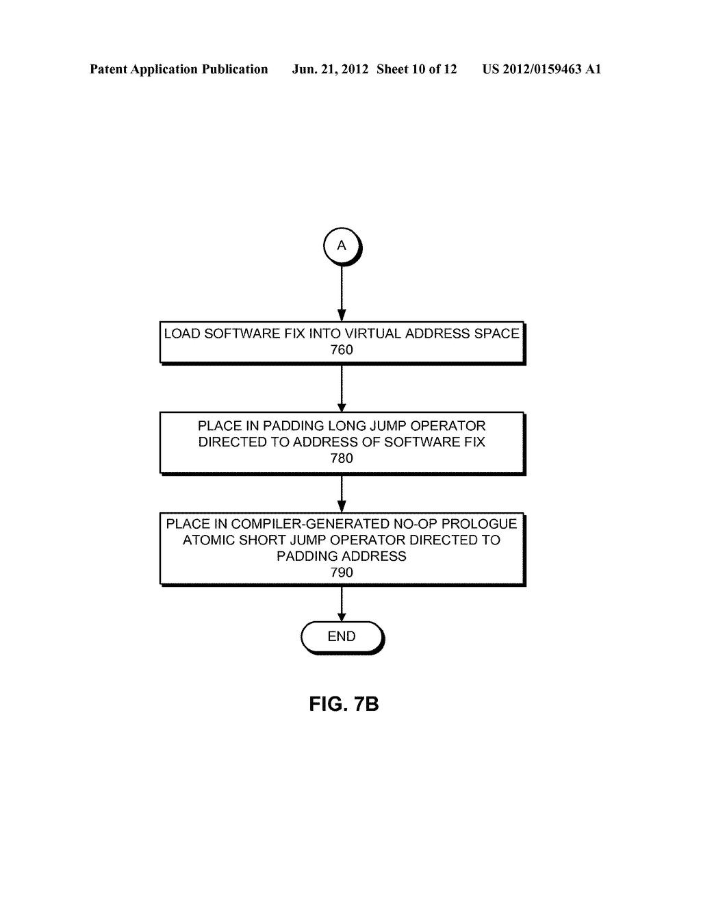 METHOD AND SYSTEM FOR CREATING, APPLYING, AND REMOVING A SOFTWARE FIX - diagram, schematic, and image 11