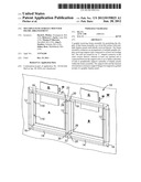 Multiple-pane surface mounted frame arrangement diagram and image