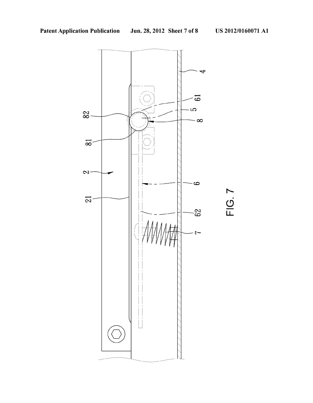 SAW MACHINE FENCE ADJUSTMENT MECHANISM - diagram, schematic, and image 08
