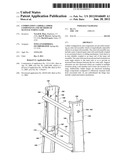 COMBINATION LADDER, LADDER COMPONENTS AND METHODS OF MANUFACTURING SAME diagram and image