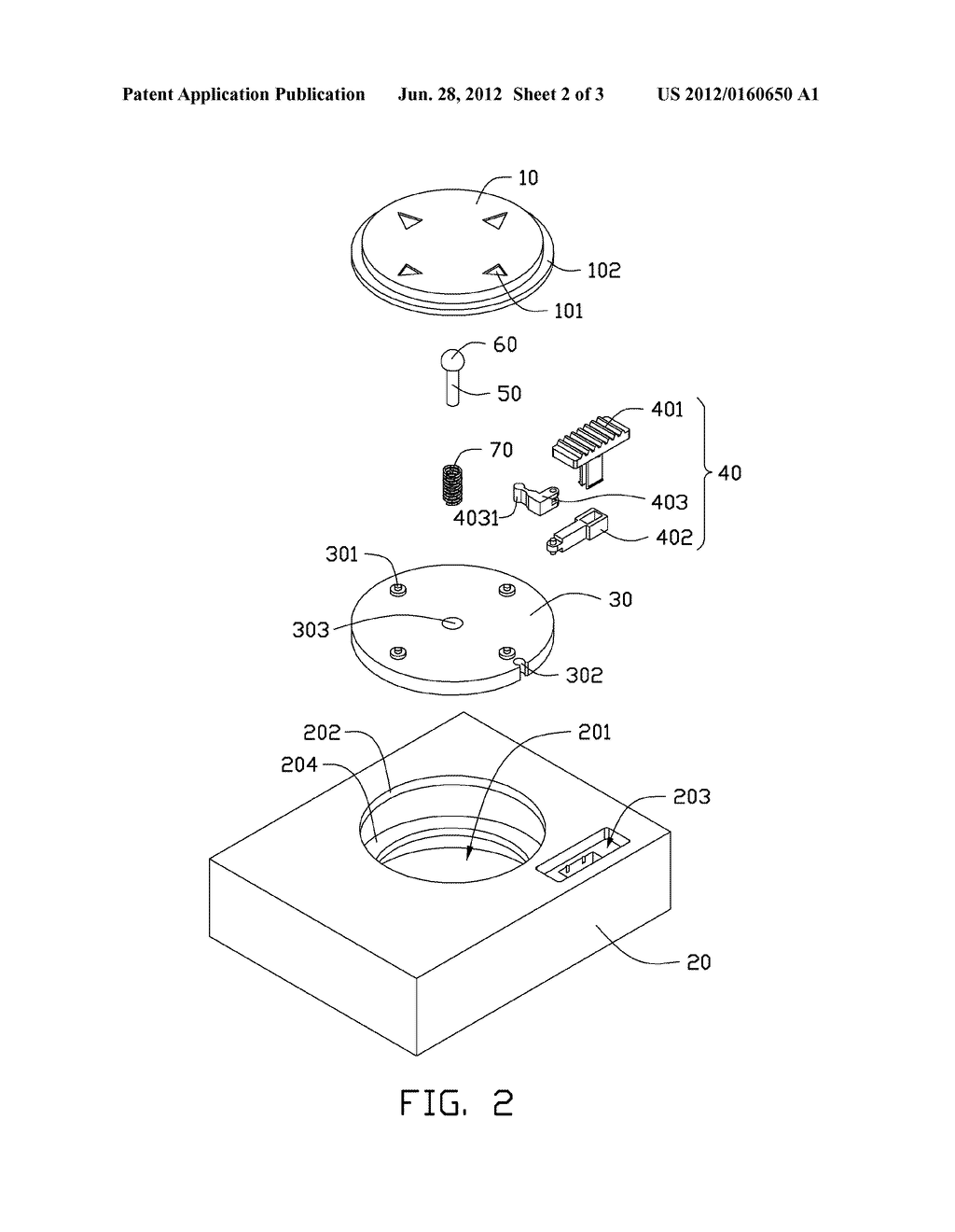 ELECTRONIC DEVICE HAVING MISOPERATION PREVENTION BUTTON - diagram, schematic, and image 03