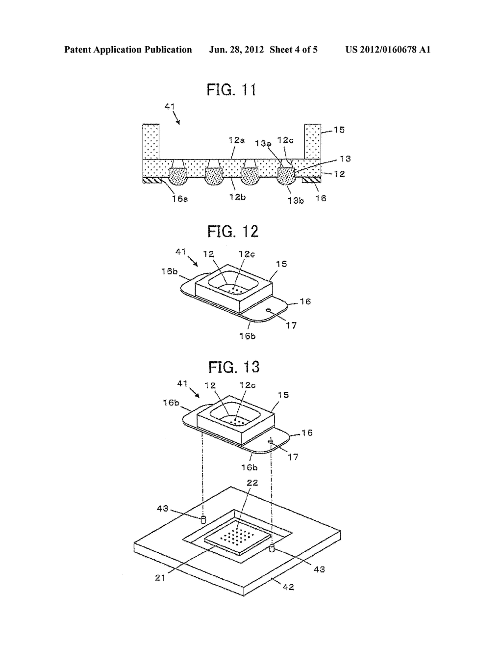 ELECTRODE DEVICE FOR AN ELECTROCHEMICAL SENSOR CHIP - diagram, schematic, and image 05