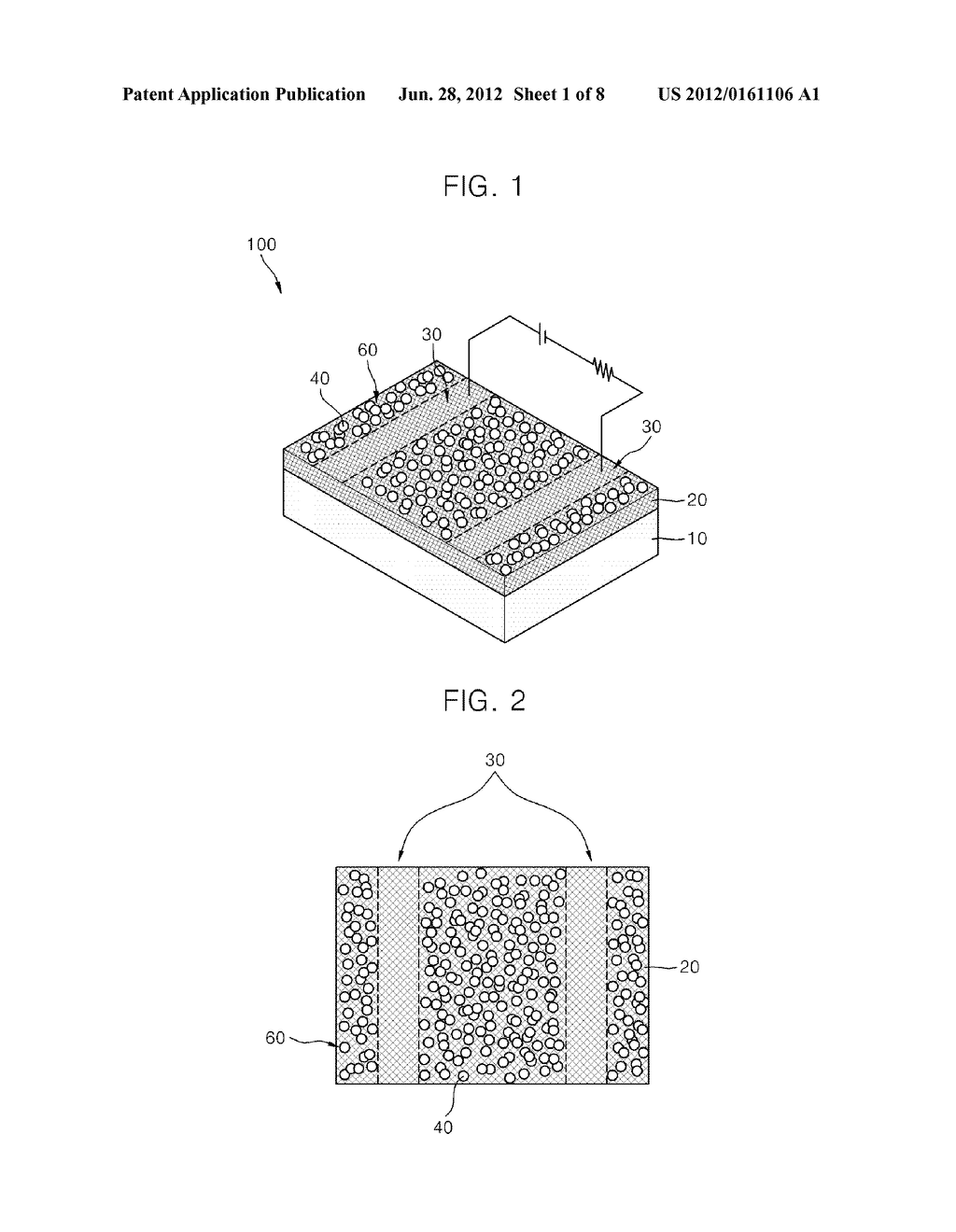 PHOTODETECTOR USING A GRAPHENE THIN FILM AND NANOPARTICLES, AND METHOD FOR     PRODUCING THE SAME - diagram, schematic, and image 02