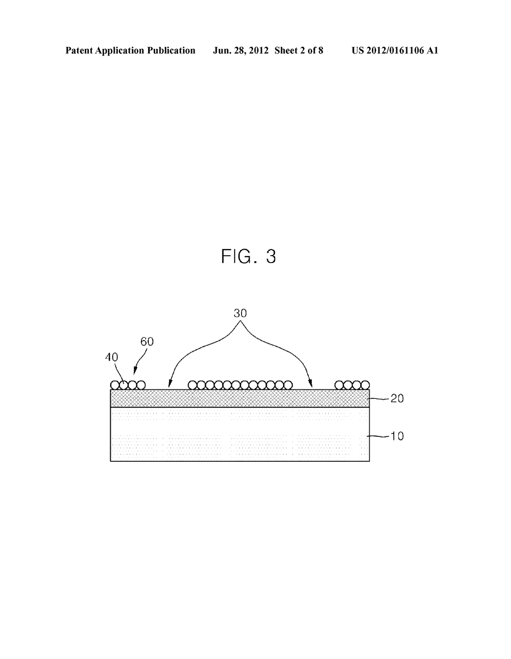 PHOTODETECTOR USING A GRAPHENE THIN FILM AND NANOPARTICLES, AND METHOD FOR     PRODUCING THE SAME - diagram, schematic, and image 03