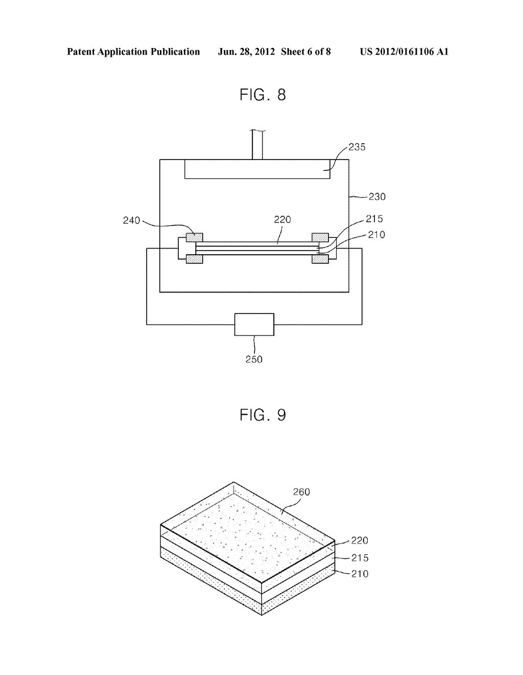 PHOTODETECTOR USING A GRAPHENE THIN FILM AND NANOPARTICLES, AND METHOD FOR     PRODUCING THE SAME - diagram, schematic, and image 07