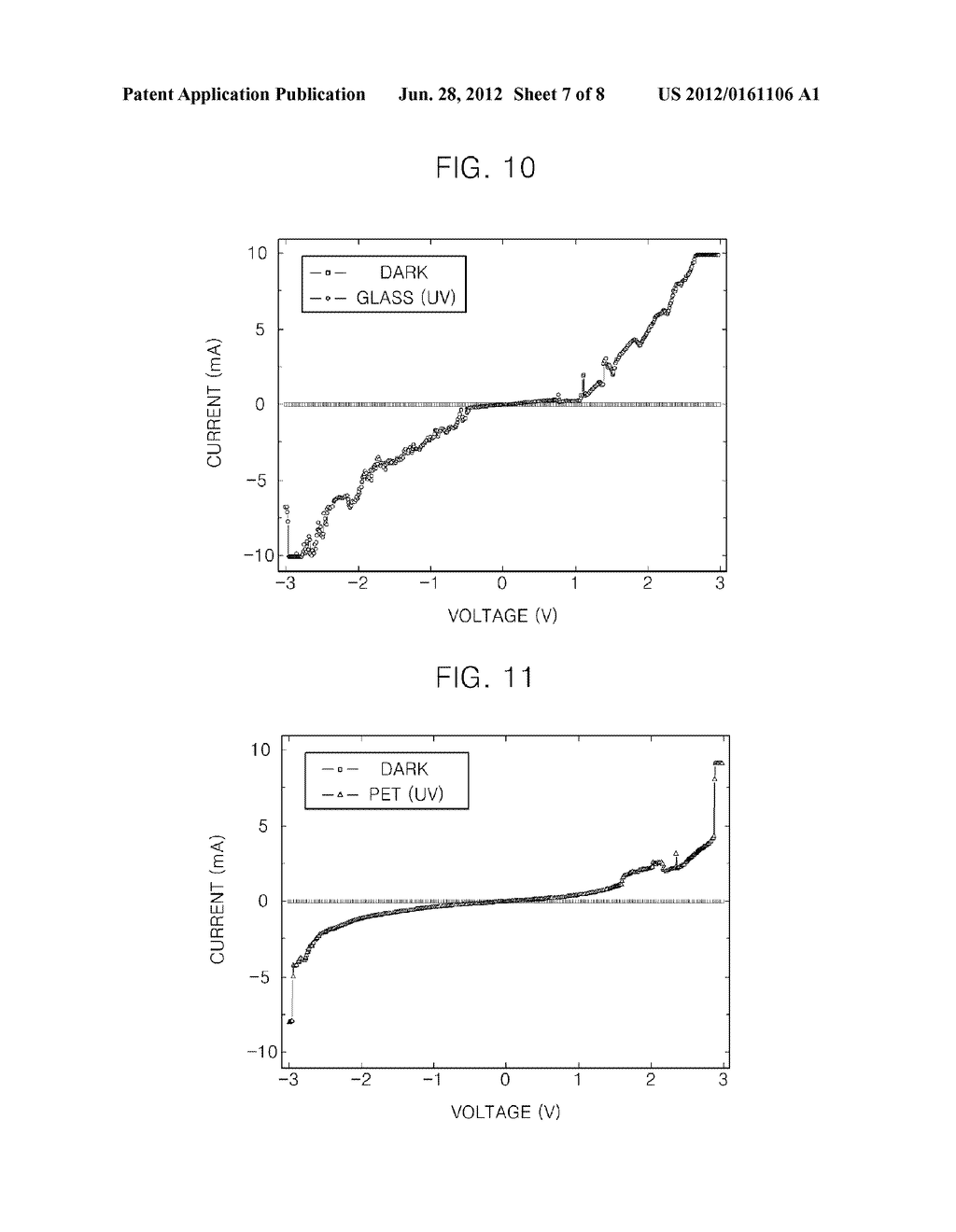 PHOTODETECTOR USING A GRAPHENE THIN FILM AND NANOPARTICLES, AND METHOD FOR     PRODUCING THE SAME - diagram, schematic, and image 08
