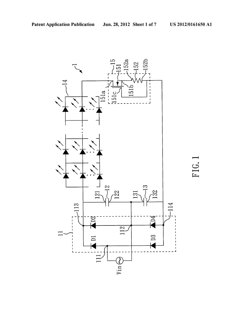 LED DRIVER CIRCUIT - diagram, schematic, and image 02