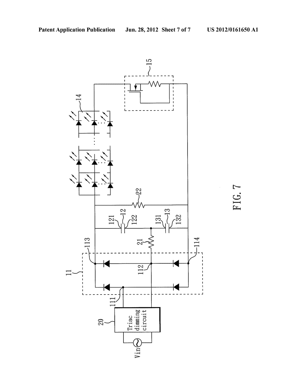 LED DRIVER CIRCUIT - diagram, schematic, and image 08