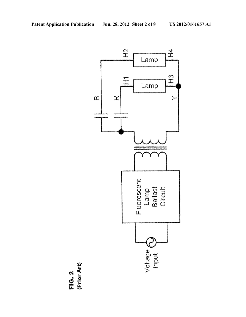 Passive Anti Arcing Protection Device For Fluorescent Lamp Ballast Schematic Diagram And Image 03