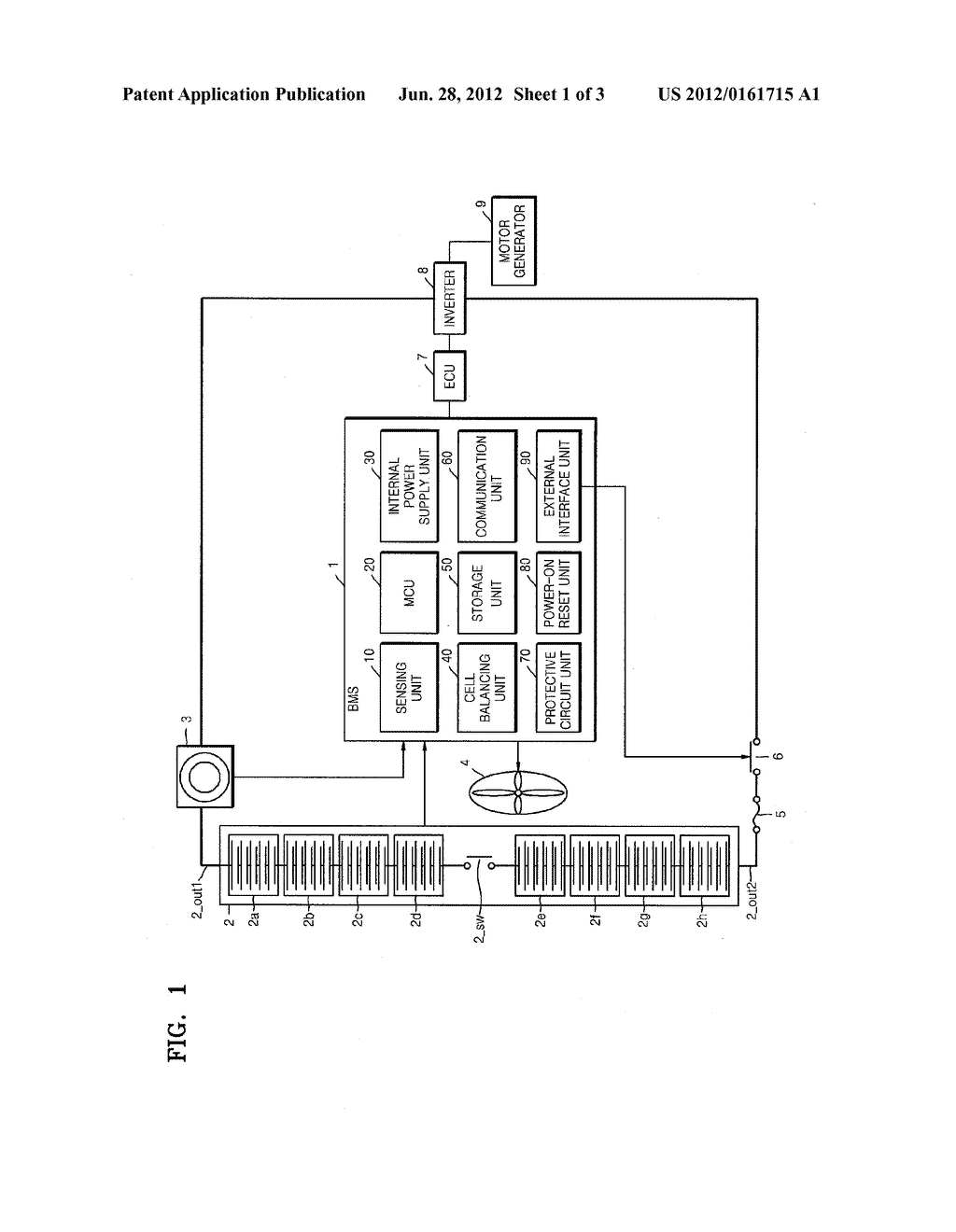 CELL BALANCING CIRCUIT, METHOD OF DRIVING THE SAME, AND BATTERY MANAGEMENT     SYSTEM THAT INCLUDES THE CELL BALANCING CIRCUIT - diagram, schematic, and image 02