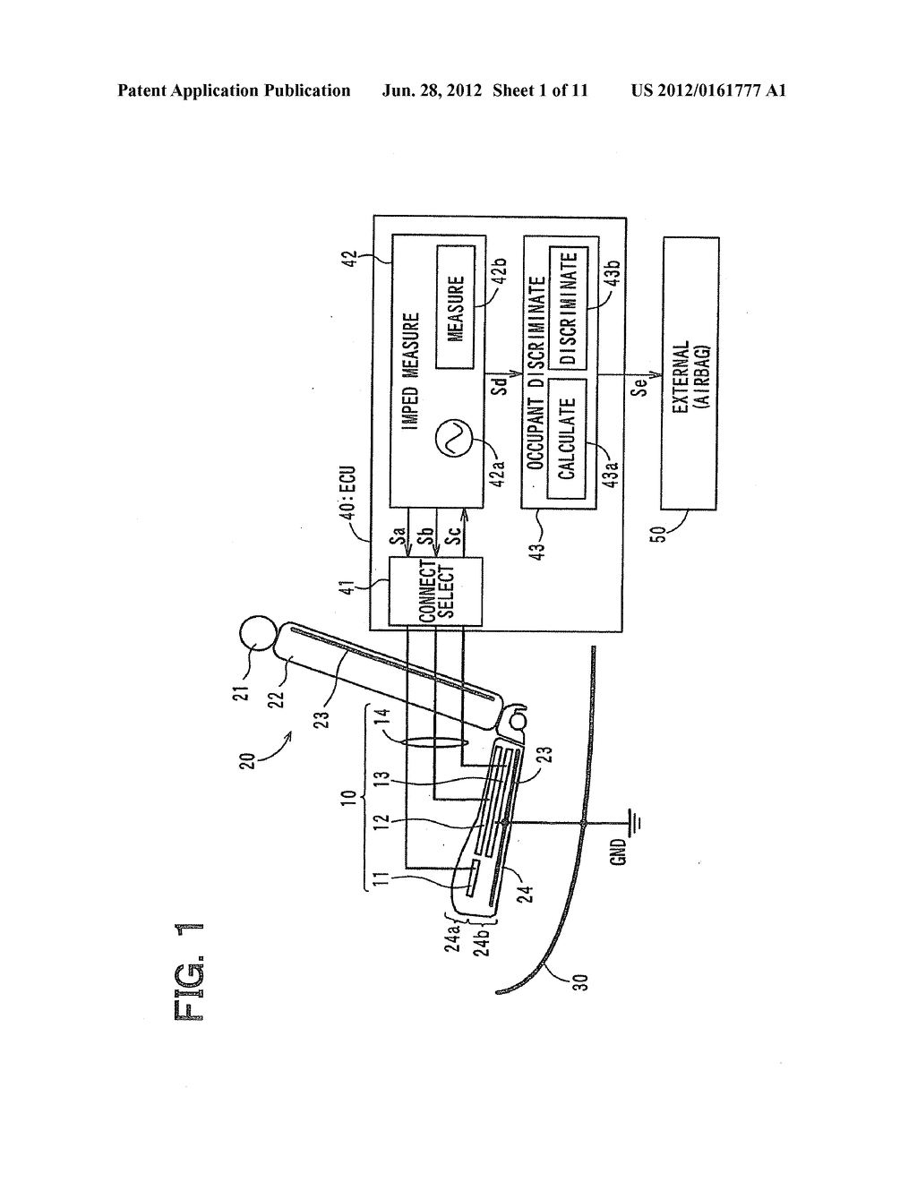 OCCUPANT DETECTION APPARATUS, OCCUPANT DETECTION METHOD AND VEHICLE - diagram, schematic, and image 02