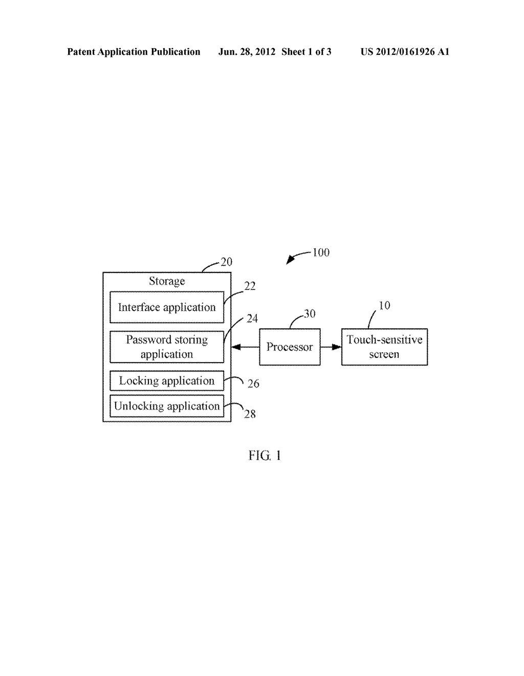 DISPLAY APPARATUS WITH TOUCH-SENSITIVE SCREEN LOCK/UNLOCK FUNCTION AND     METHOD THEREOF - diagram, schematic, and image 02