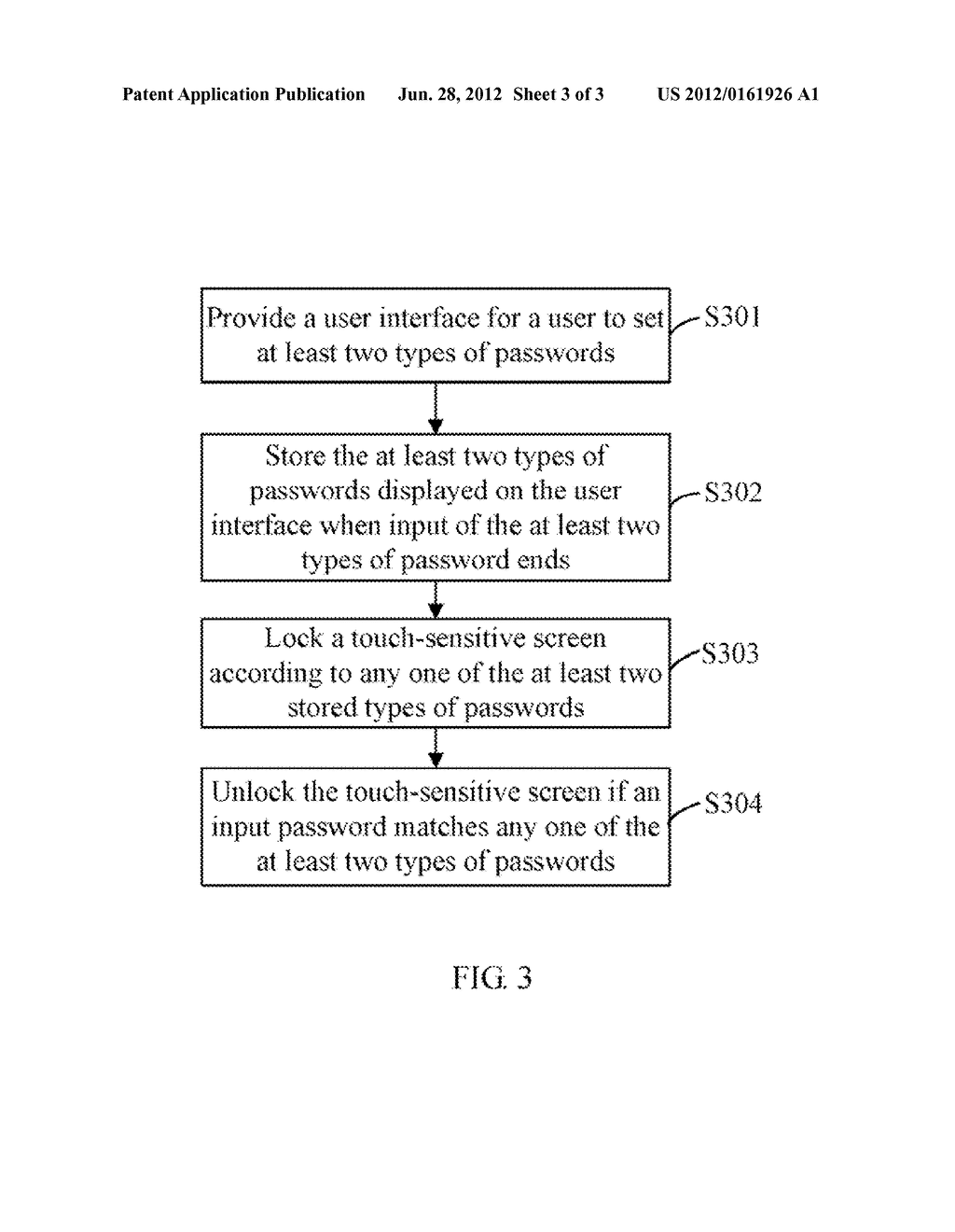 DISPLAY APPARATUS WITH TOUCH-SENSITIVE SCREEN LOCK/UNLOCK FUNCTION AND     METHOD THEREOF - diagram, schematic, and image 04