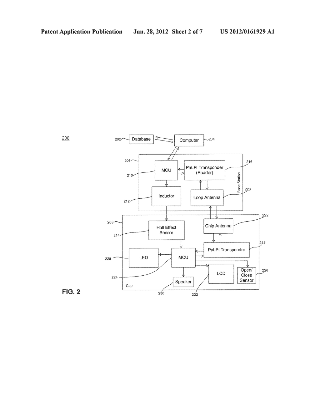Systems and Methods for Wireless Transmission of Data Using a Hall Effect     Sensor - diagram, schematic, and image 03