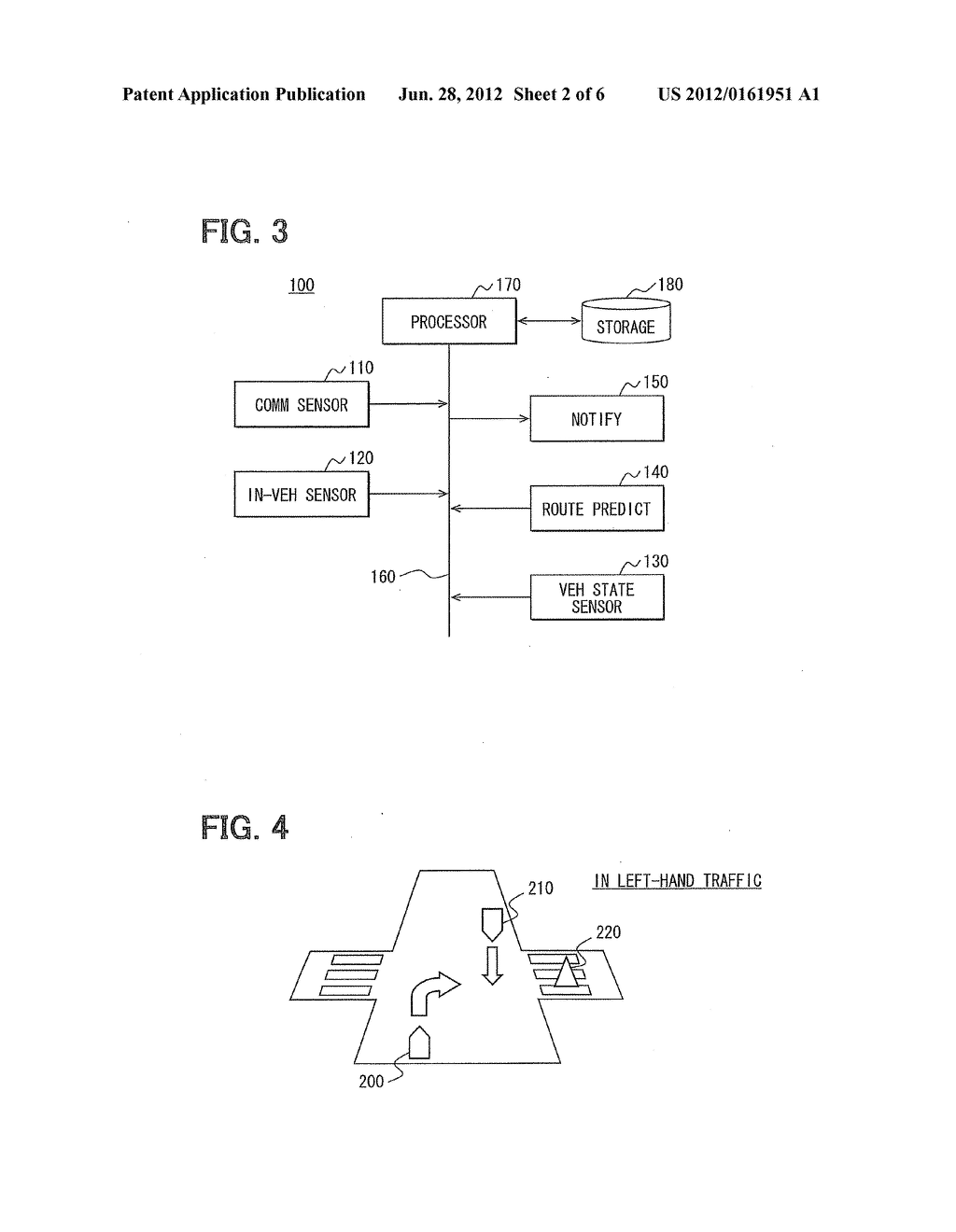 VEHICULAR OBSTACLE NOTIFICATION APPARATUS - diagram, schematic, and image 03