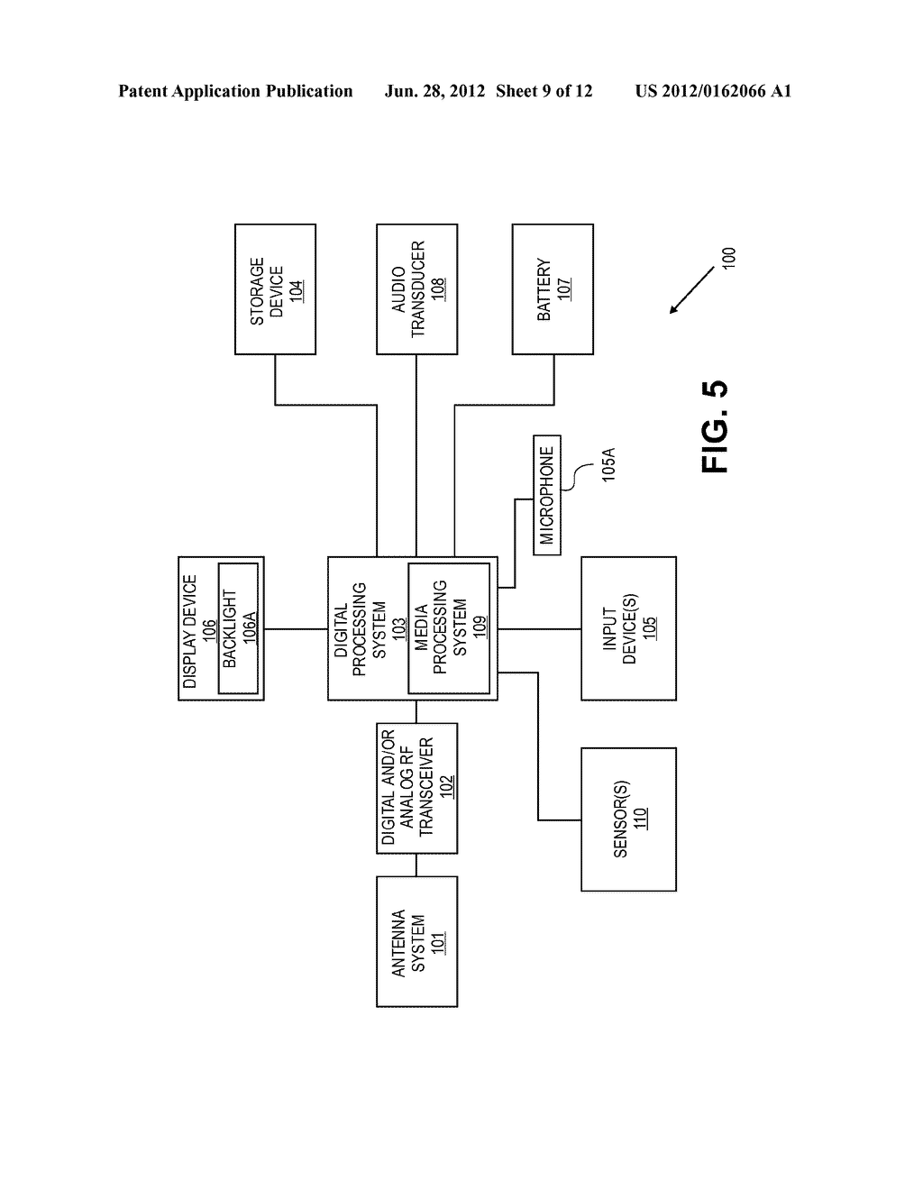 METHODS AND SYSTEMS FOR PROVIDING SENSORY INFORMATION TO DEVICES AND     PERIPHERALS - diagram, schematic, and image 10