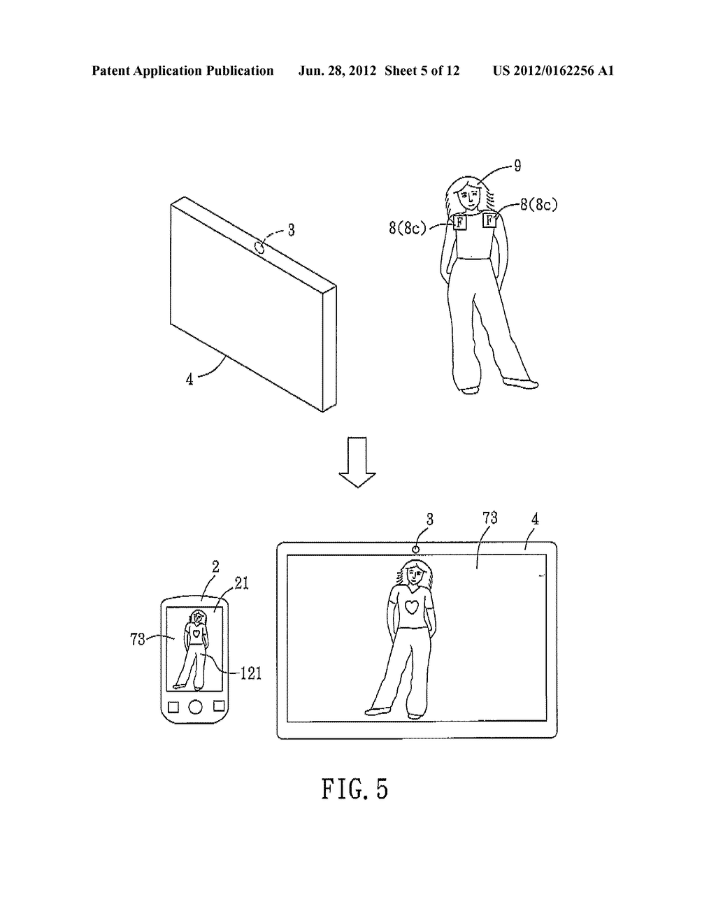 MACHINE-IMPLEMENTED METHOD, SYSTEM AND COMPUTER PROGRAM PRODUCT FOR     ENABLING A USER TO VIRTUALLY TRY ON A SELECTED GARMENT USING AUGMENTED     REALITY - diagram, schematic, and image 06
