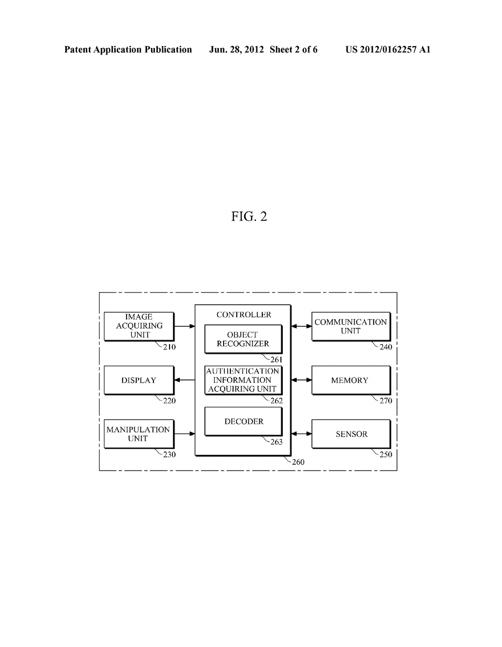 AUTHENTICATION APPARATUS AND METHOD FOR PROVIDING AUGMENTED REALITY (AR)     INFORMATION - diagram, schematic, and image 03