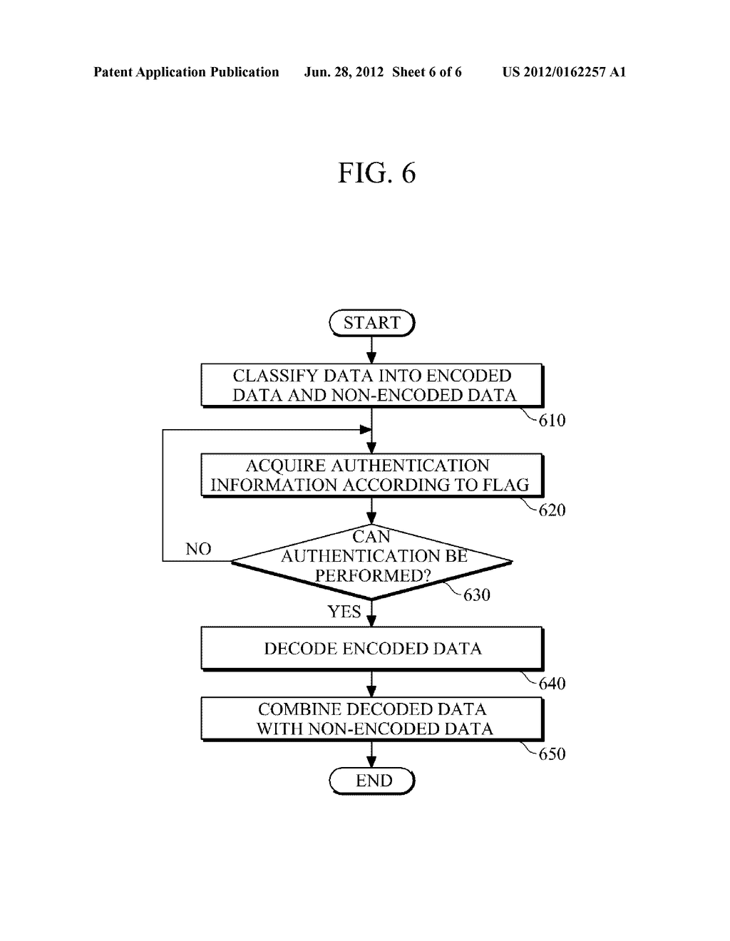 AUTHENTICATION APPARATUS AND METHOD FOR PROVIDING AUGMENTED REALITY (AR)     INFORMATION - diagram, schematic, and image 07