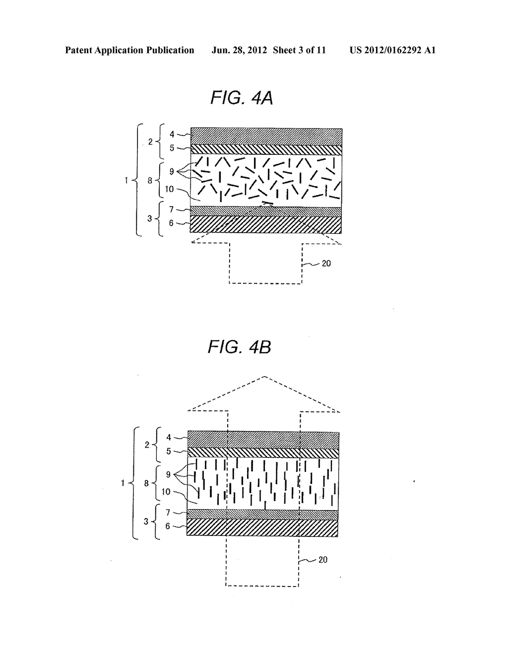 SUSPENDED PARTICLE DEVICE, LIGHT CONTROL DEVICE USING THE SAME, AND METHOD     FOR DRIVING THE SAME - diagram, schematic, and image 04