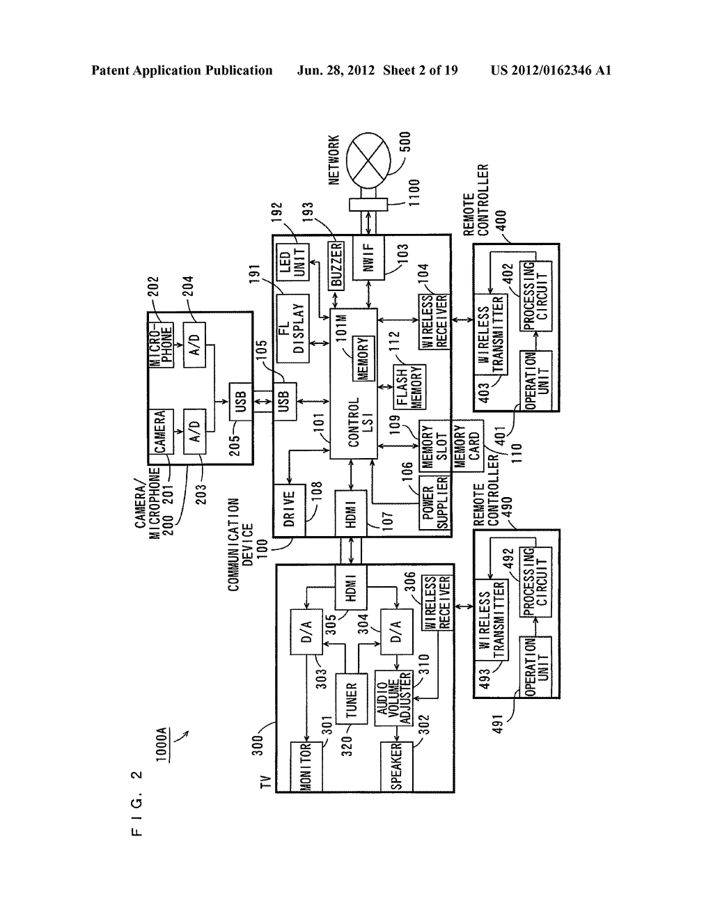COMMUNICATION DEVICE, OPERATING METHOD THEREFOR, AND OPERATING PROGRAM     THEREFOR - diagram, schematic, and image 03