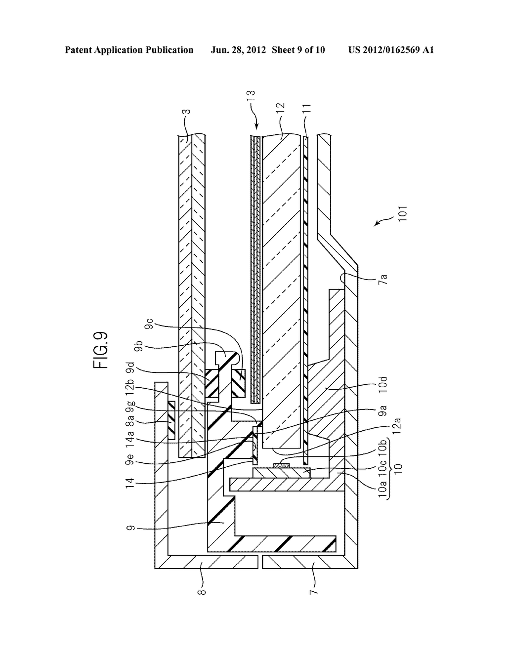 LIQUID CRYSTAL DISPLAY DEVICE - diagram, schematic, and image 10