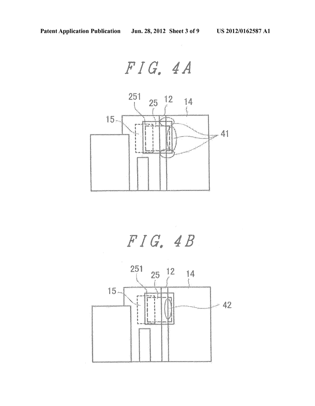 LIQUID CRYSTAL DISPLAY DEVICE WITH GROUNDED BY THERMOCOMPRESSION BONDING     TAPE and double-side adhesive tape - diagram, schematic, and image 04