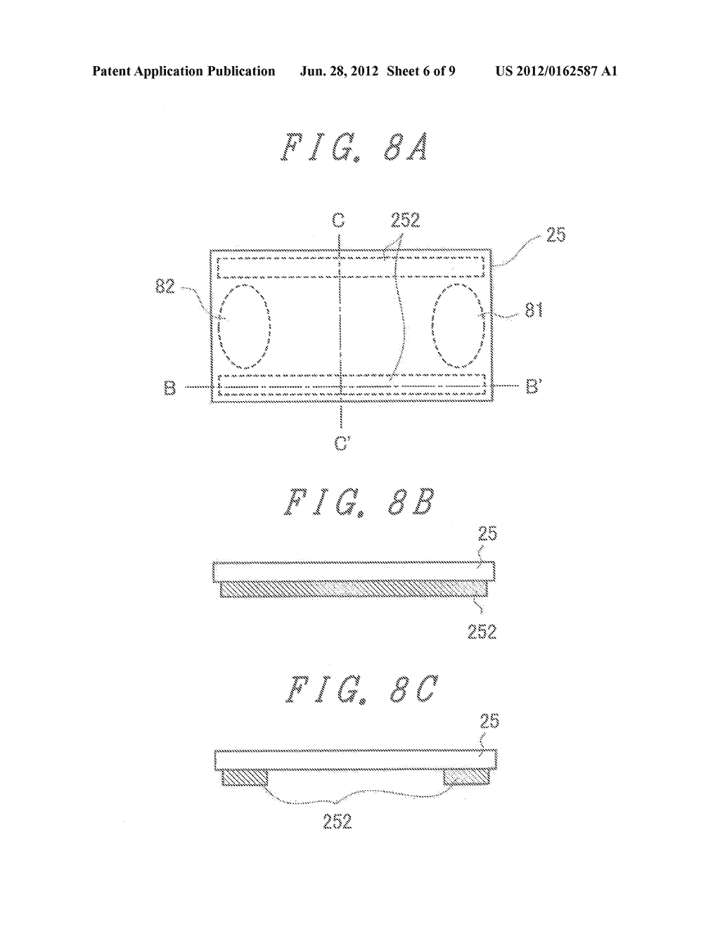 LIQUID CRYSTAL DISPLAY DEVICE WITH GROUNDED BY THERMOCOMPRESSION BONDING     TAPE and double-side adhesive tape - diagram, schematic, and image 07