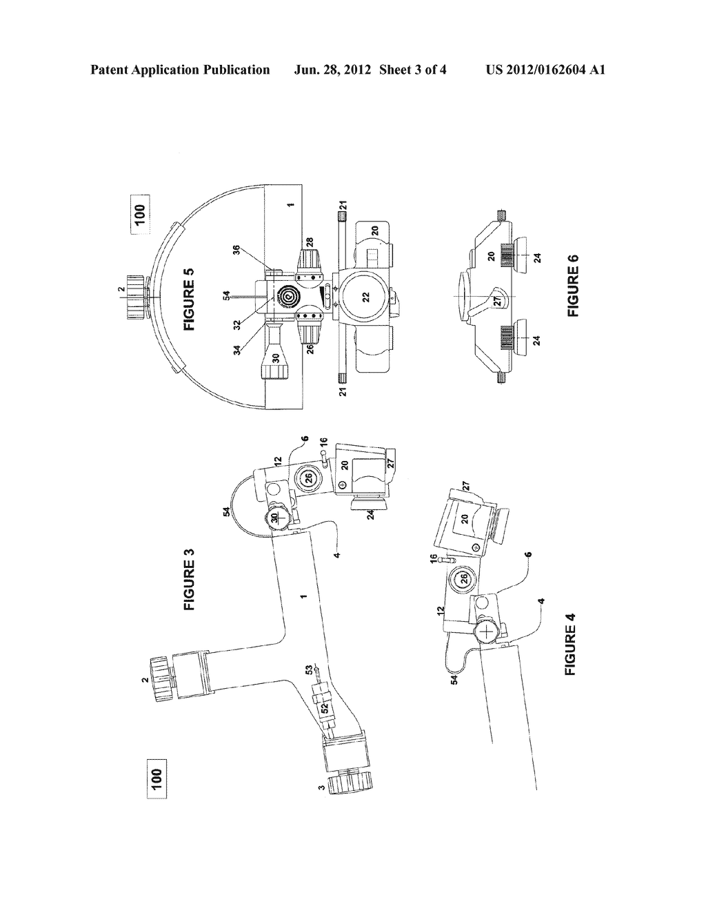 BINOCULAR INDIRECT OPHTHALMOSCOPE - diagram, schematic, and