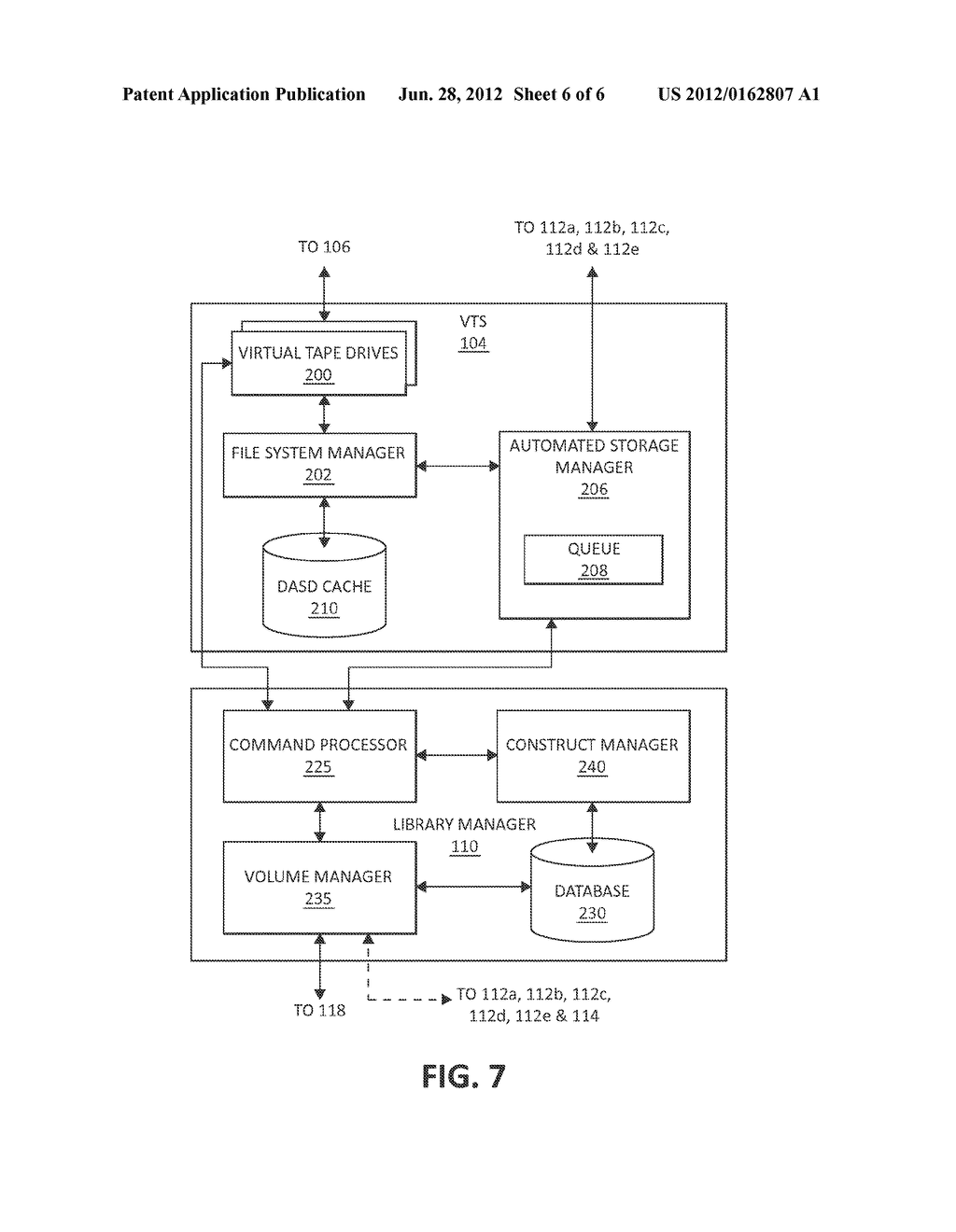METHOD AND SYSTEM FOR OPERATING A TAPE DRIVE - diagram, schematic, and image 07
