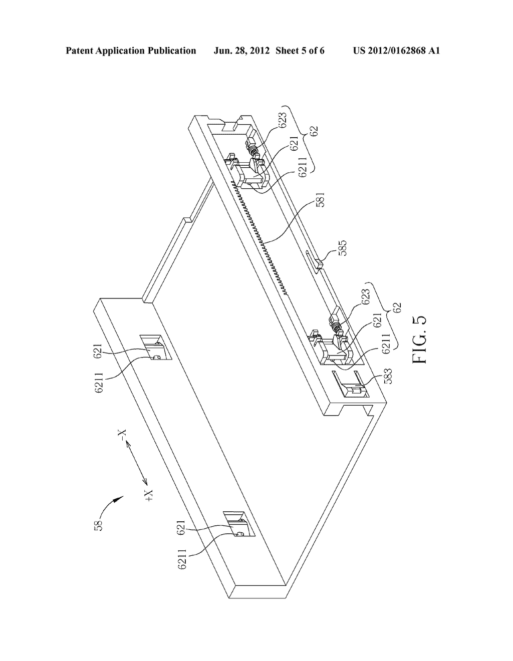 FIXING MECHANISM FOR FIXING A DETACHABLE MODULE AND RELATED ELECTRONIC     DEVICE - diagram, schematic, and image 06