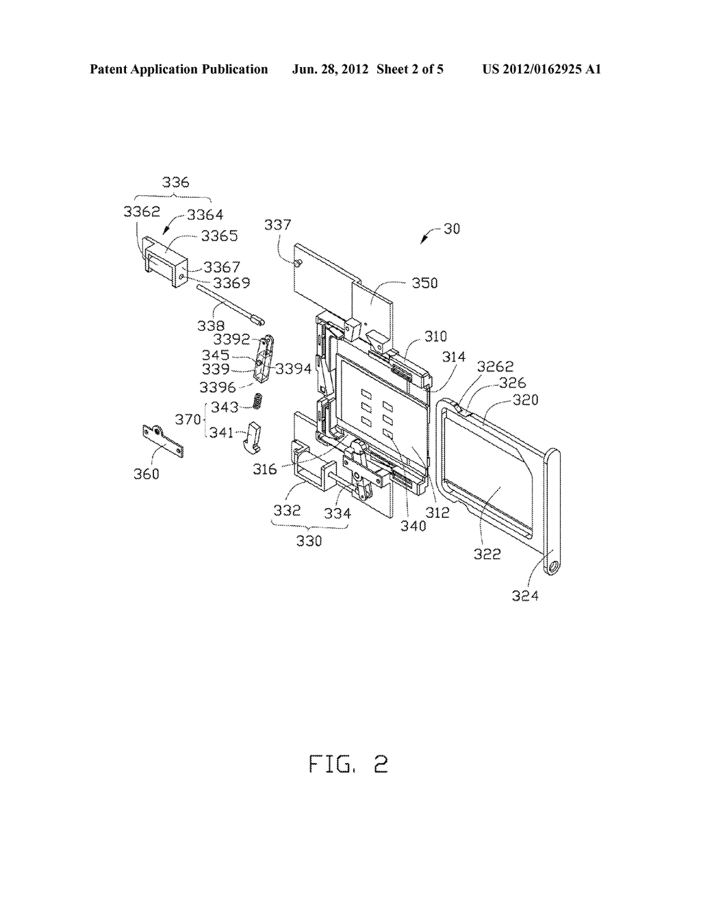 CARD TRAY EJECTION MECHANISM AND ELECTRONIC DEVICE USING THE SAME - diagram, schematic, and image 03