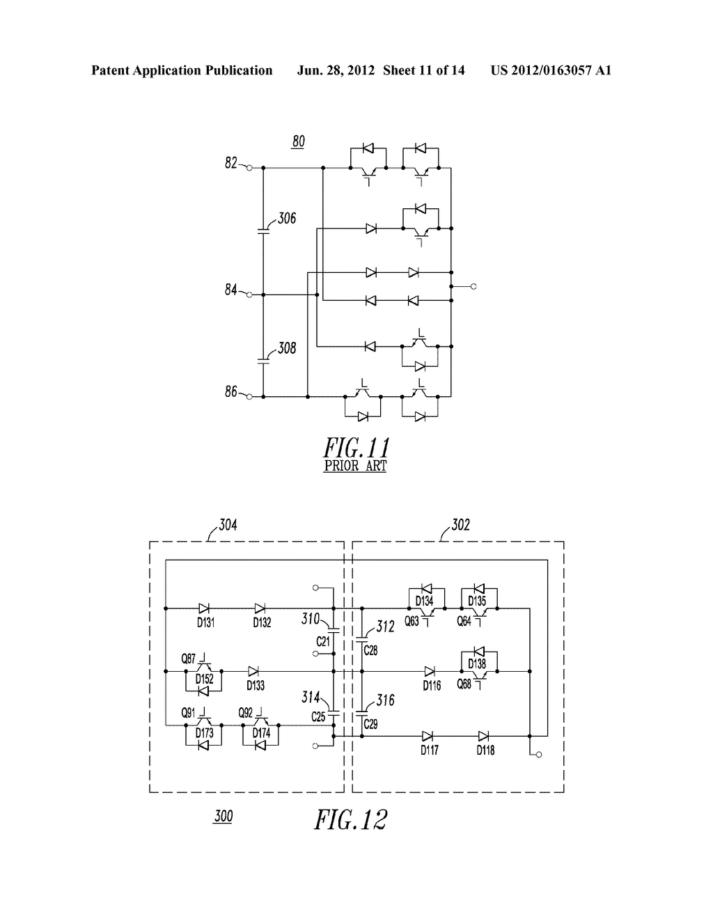 MECHANICAL ARRANGEMENT OF A MULTILEVEL POWER CONVERTER CIRCUIT - diagram, schematic, and image 12