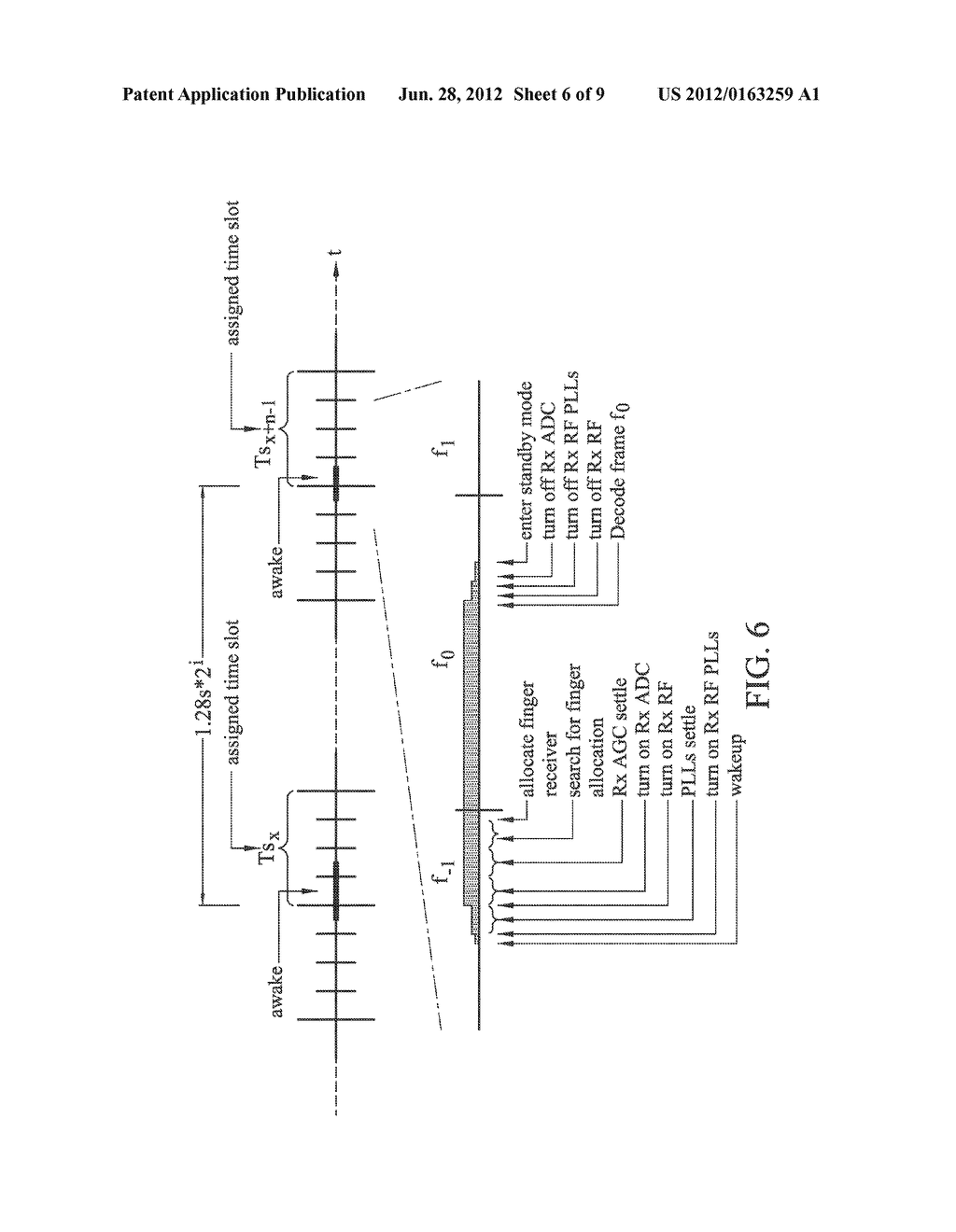 APPARATUSES AND METHODS FOR SAVING POWER IN PAGING OPERATIONS - diagram, schematic, and image 07