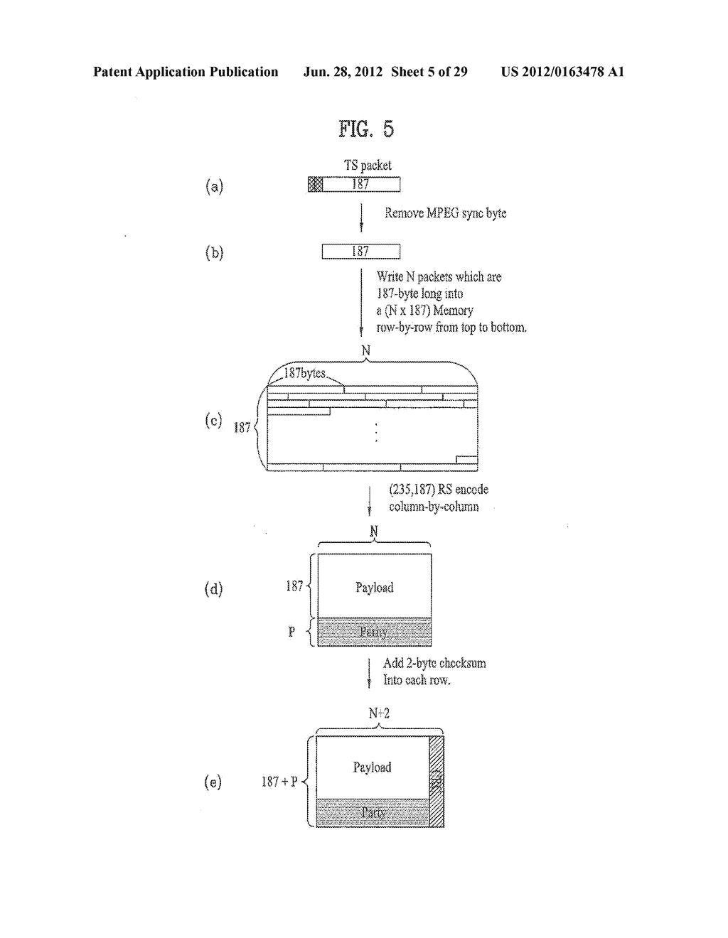 DIGITAL BROADCASTING SYSTEM AND METHOD OF PROCESSING DATA IN DIGITAL     BROADCASTING SYSTEM - diagram, schematic, and image 06
