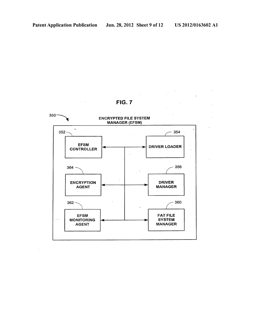 Method and Apparatus for Providing Seamless File System Encryption from a     Pre-Boot Environment Into a Firmware Interface Aware Operating System - diagram, schematic, and image 10