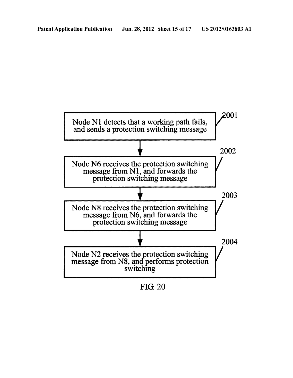 INFORMATION PROCESSING METHOD IN OPTICAL NETWORK, OPTICAL COMMUNICATION     APPARATUS AND SYSTEM - diagram, schematic, and image 16