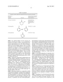 BENZOTHIAZOLE AND BENZOOXAZOLE DERIVATIVES AND METHODS OF USE diagram and image