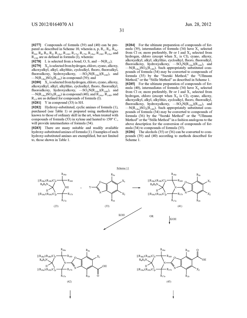 BENZOTHIAZOLE AND BENZOOXAZOLE DERIVATIVES AND METHODS OF USE - diagram, schematic, and image 32