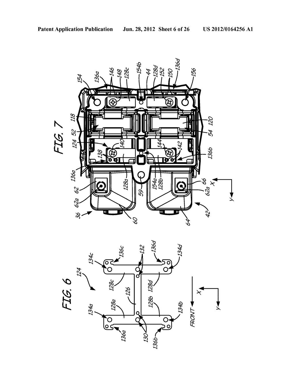 PRINT HEAD ASSEMBLY AND PRINT HEAD FOR USE IN FUSED DEPOSITION MODELING     SYSTEM - diagram, schematic, and image 07