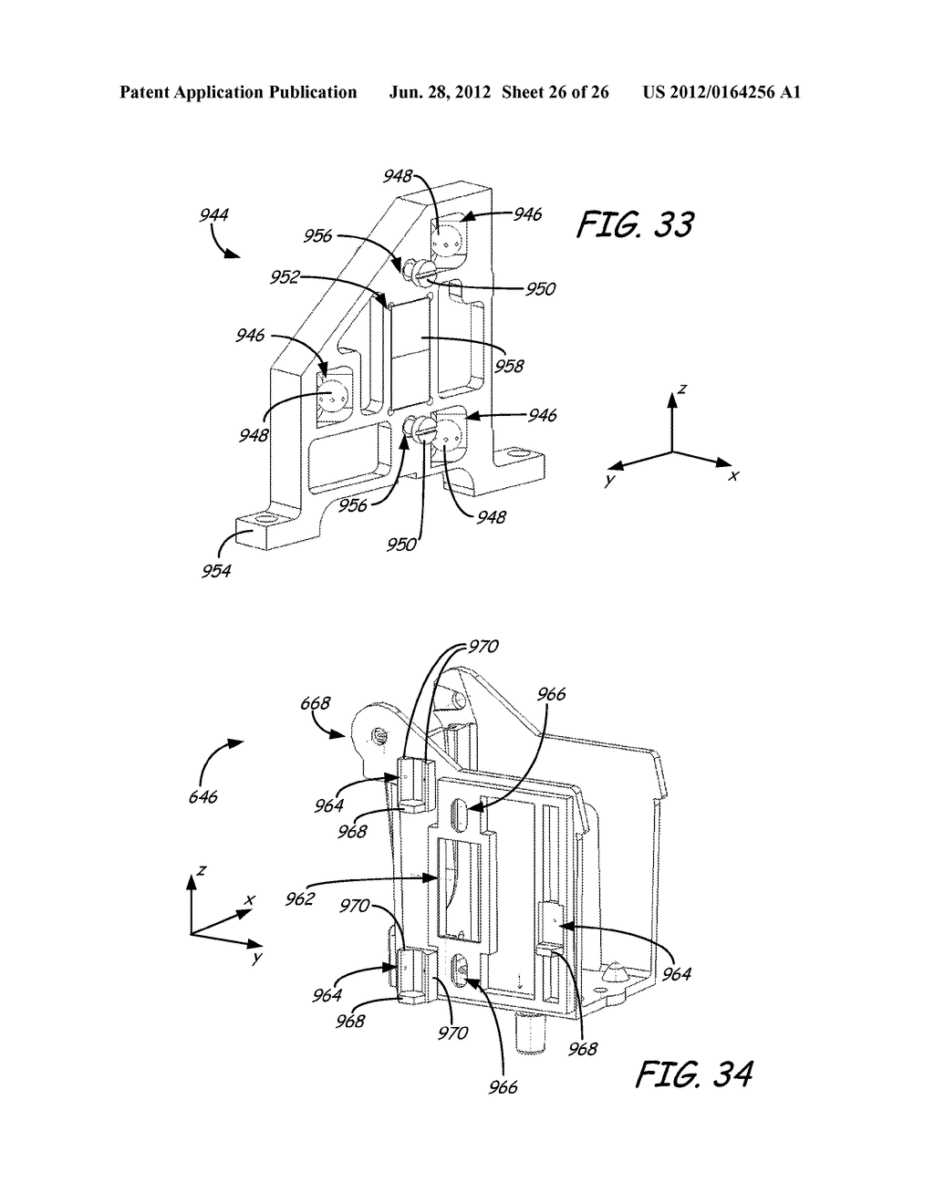 PRINT HEAD ASSEMBLY AND PRINT HEAD FOR USE IN FUSED DEPOSITION MODELING     SYSTEM - diagram, schematic, and image 27