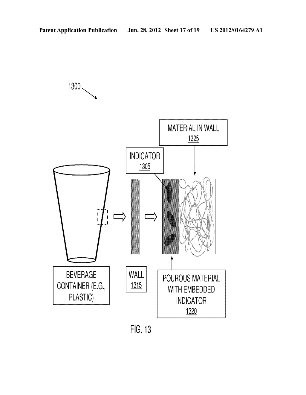 SYSTEM AND METHOD FOR DETECTION OF A CONTAMINATED BEVERAGE - diagram, schematic, and image 18