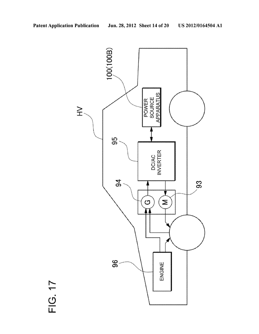 POWER SOURCE APPARATUS, DUST-FREE CASE, AND VEHICLE EQUIPPED WITH THE     POWER SOURCE APPARATUS - diagram, schematic, and image 15