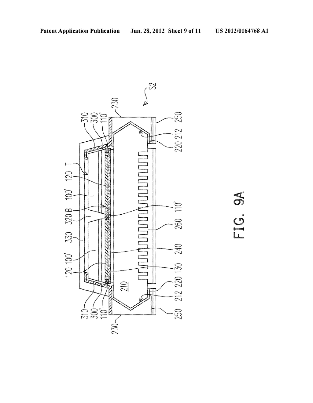 Light-Emitting Diode Package and Wafer-Level Packaging Process of     Light-Emitting Diode - diagram, schematic, and image 10