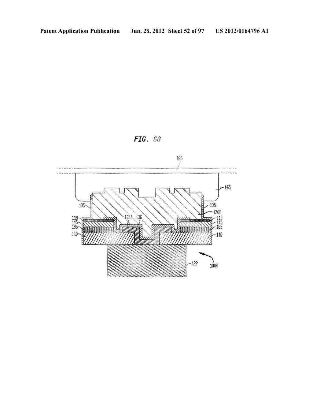 Method of Manufacturing a Printable Composition of a Liquid or Gel     Suspension of Diodes - diagram, schematic, and image 53